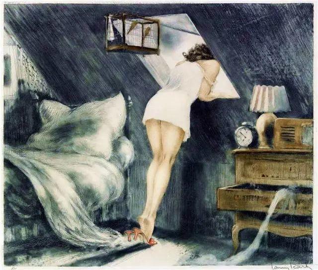 妻子是他一生艺术的灵感源泉 法国画家Louis Icart插图17