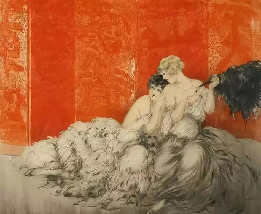 妻子是他一生艺术的灵感源泉 法国画家Louis Icart插图21