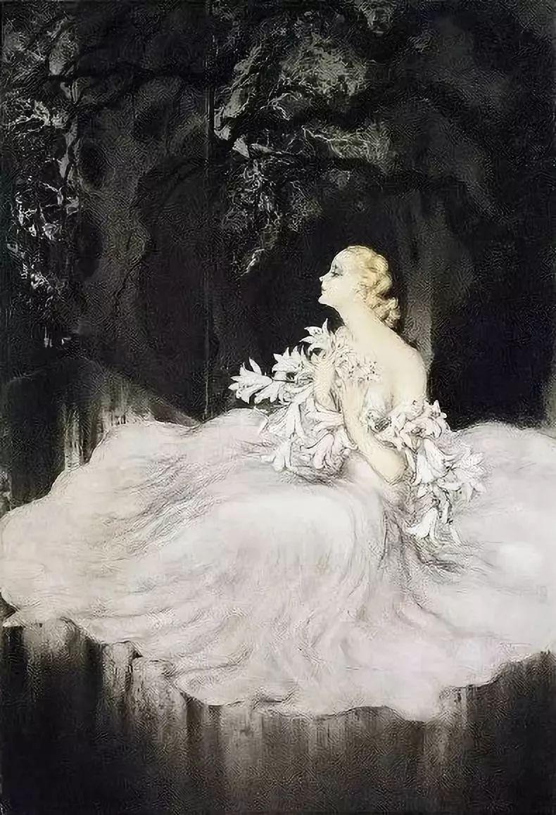 妻子是他一生艺术的灵感源泉 法国画家Louis Icart插图23