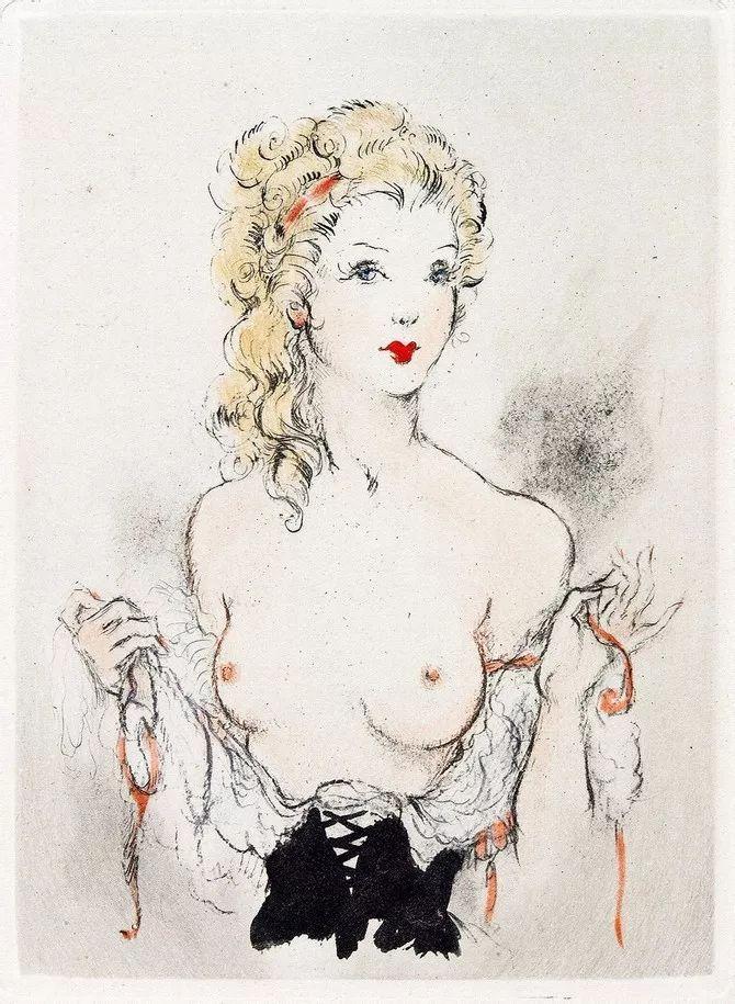 妻子是他一生艺术的灵感源泉 法国画家Louis Icart插图25