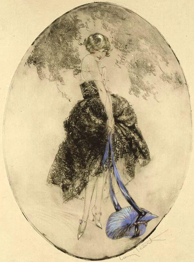 妻子是他一生艺术的灵感源泉 法国画家Louis Icart插图27