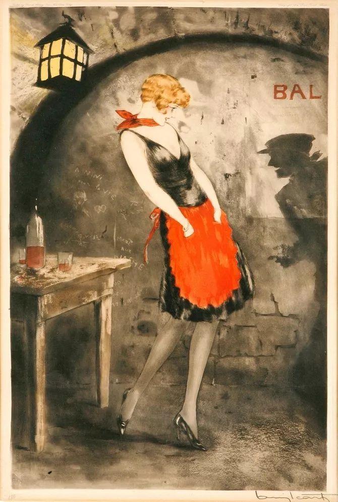 妻子是他一生艺术的灵感源泉 法国画家Louis Icart插图29