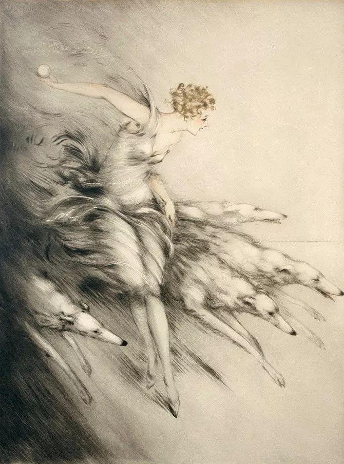 妻子是他一生艺术的灵感源泉 法国画家Louis Icart插图31