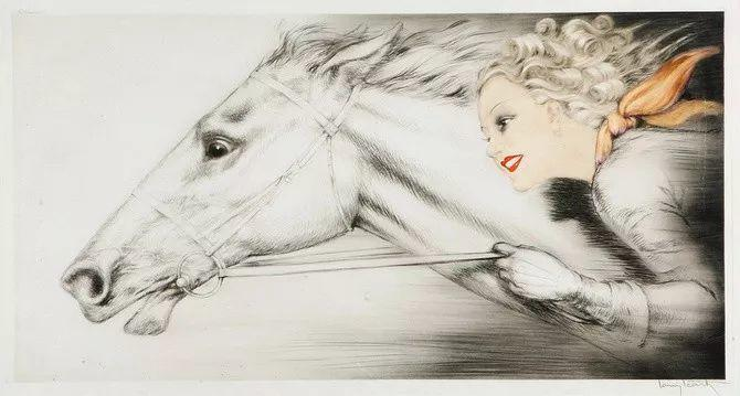 妻子是他一生艺术的灵感源泉 法国画家Louis Icart插图33