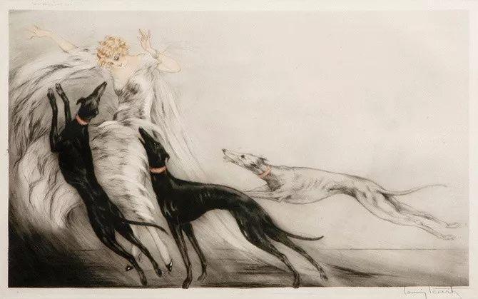 妻子是他一生艺术的灵感源泉 法国画家Louis Icart插图35