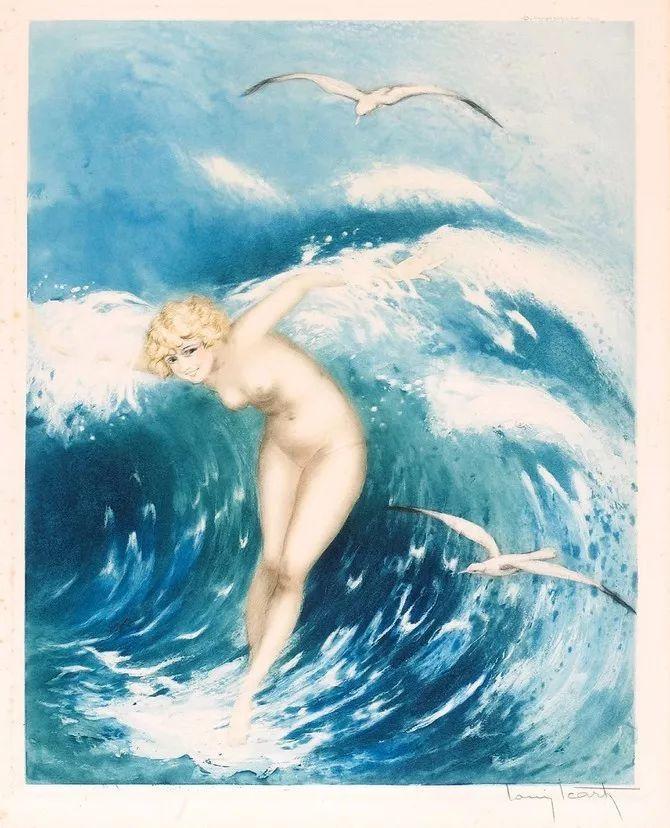 妻子是他一生艺术的灵感源泉 法国画家Louis Icart插图39