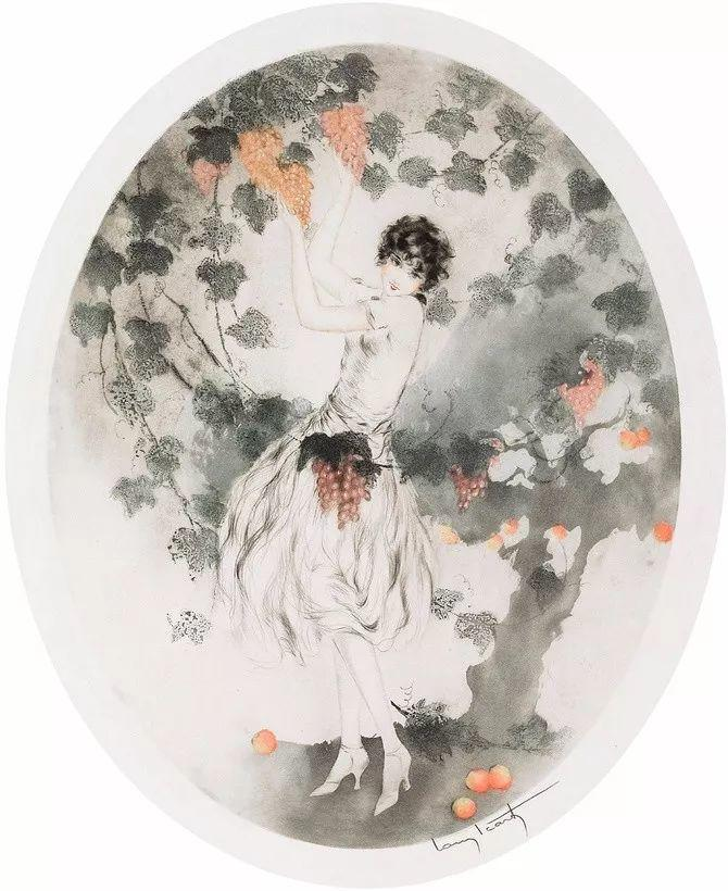 妻子是他一生艺术的灵感源泉 法国画家Louis Icart插图41
