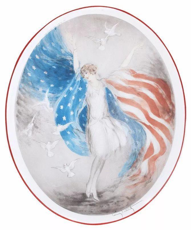 妻子是他一生艺术的灵感源泉 法国画家Louis Icart插图43