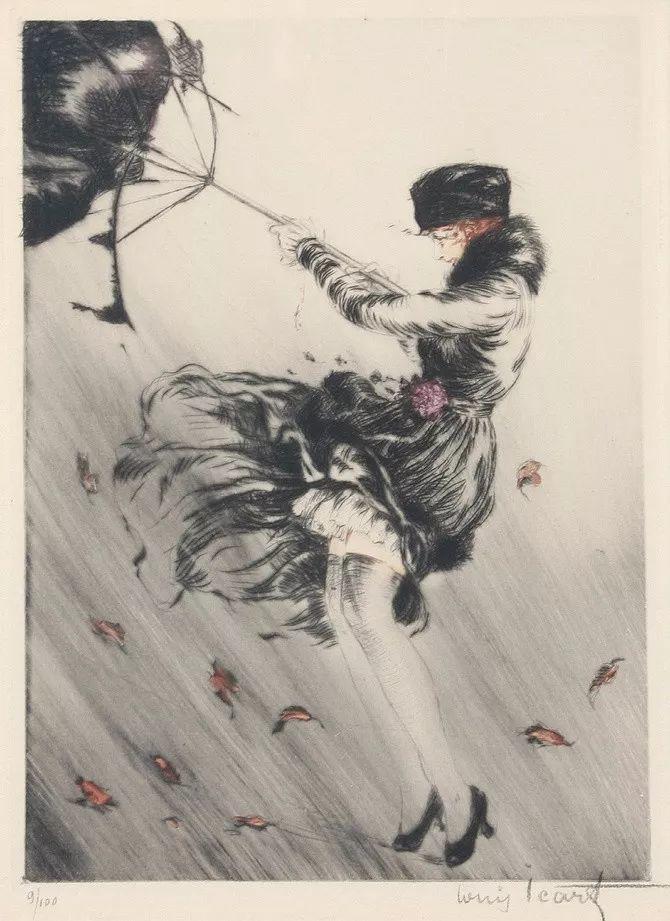 妻子是他一生艺术的灵感源泉 法国画家Louis Icart插图45