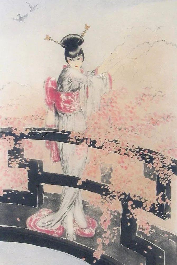 妻子是他一生艺术的灵感源泉 法国画家Louis Icart插图47