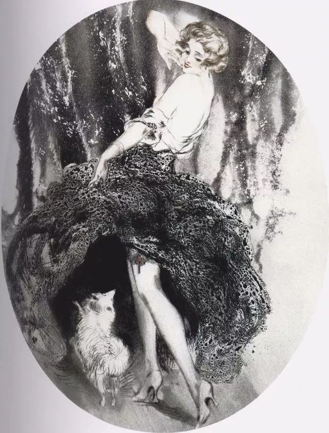 妻子是他一生艺术的灵感源泉 法国画家Louis Icart插图49