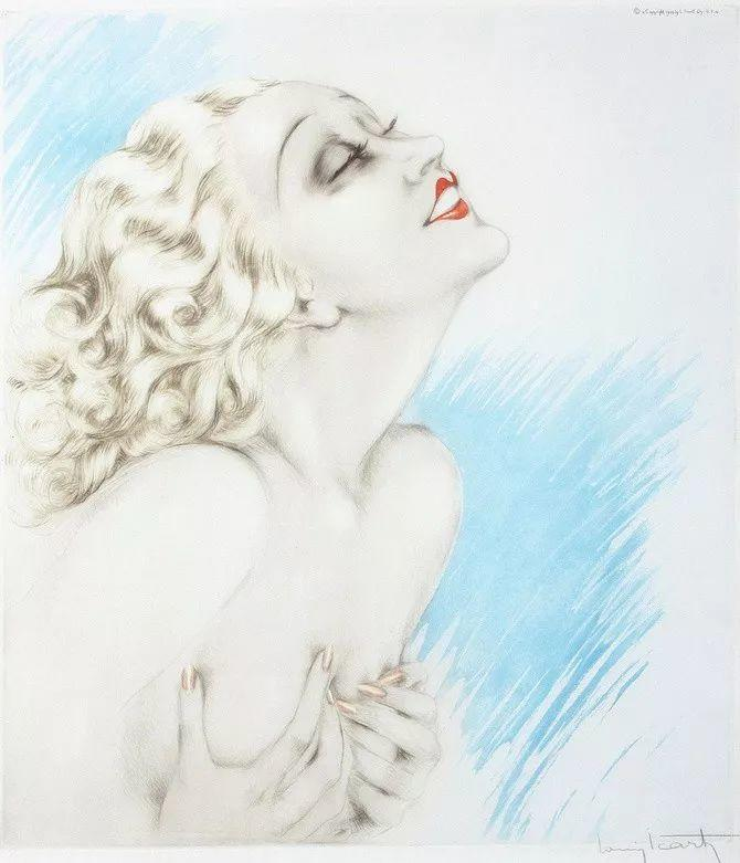 妻子是他一生艺术的灵感源泉 法国画家Louis Icart插图51