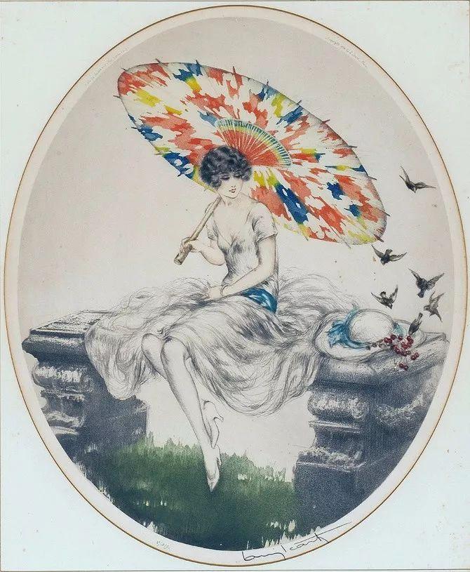 妻子是他一生艺术的灵感源泉 法国画家Louis Icart插图53