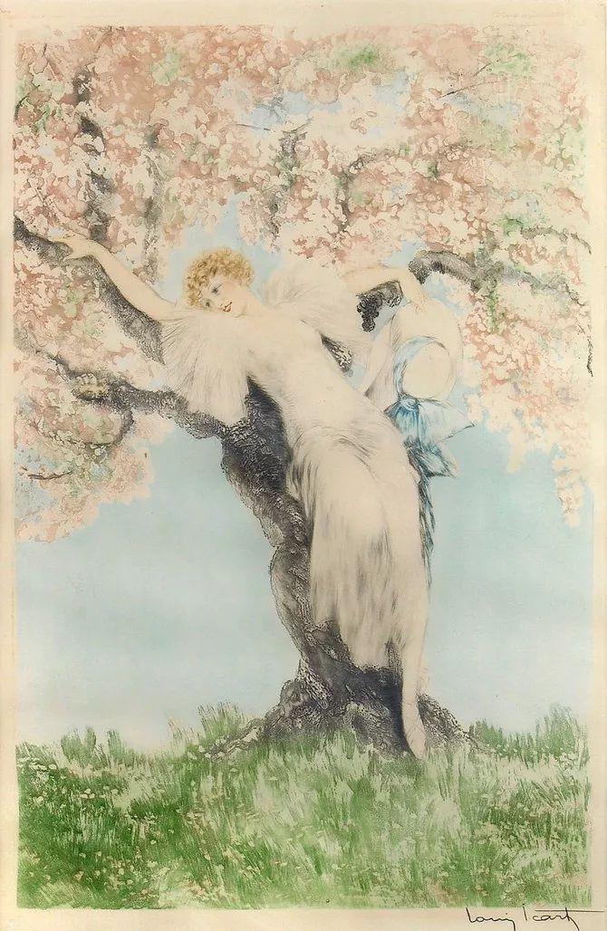妻子是他一生艺术的灵感源泉 法国画家Louis Icart插图55