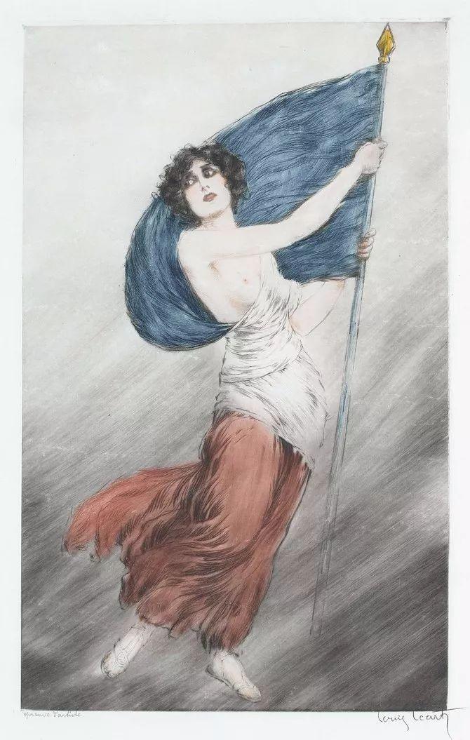 妻子是他一生艺术的灵感源泉 法国画家Louis Icart插图57