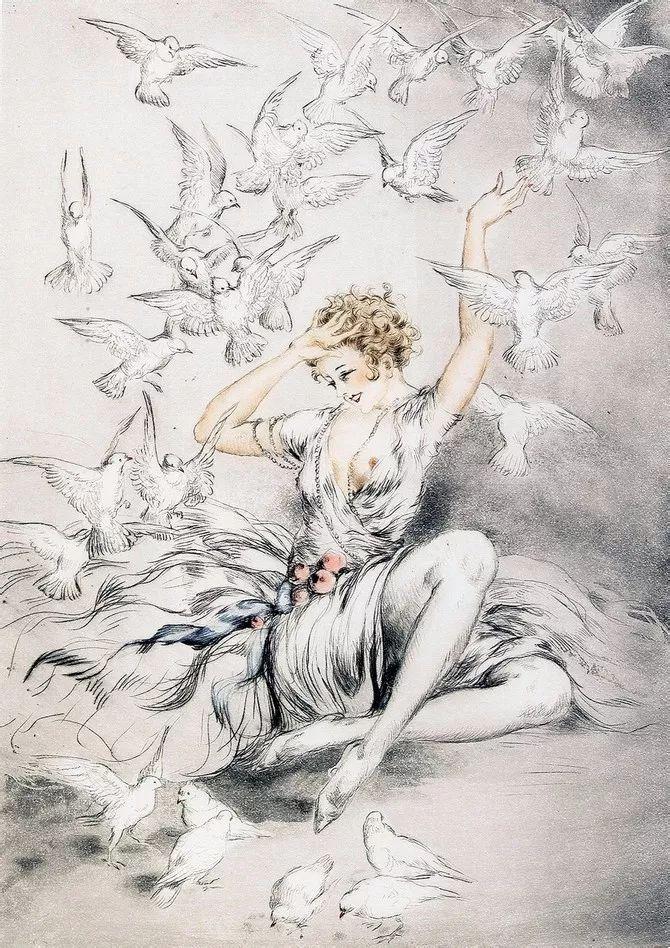 妻子是他一生艺术的灵感源泉 法国画家Louis Icart插图59