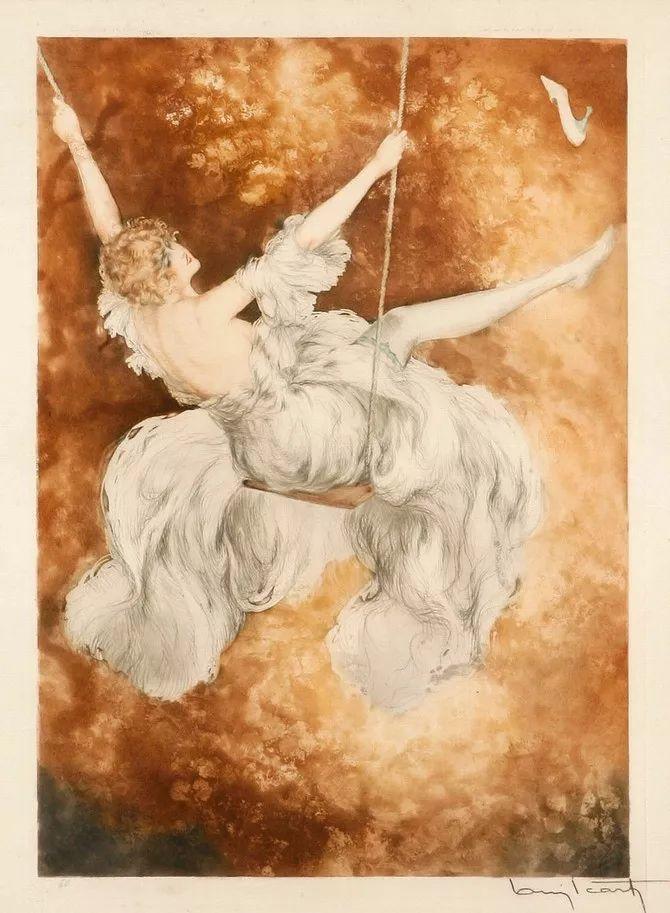 妻子是他一生艺术的灵感源泉 法国画家Louis Icart插图61