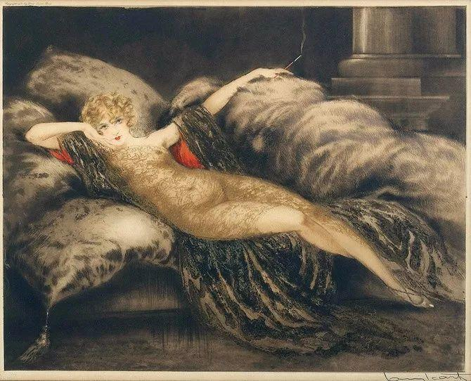 妻子是他一生艺术的灵感源泉 法国画家Louis Icart插图69