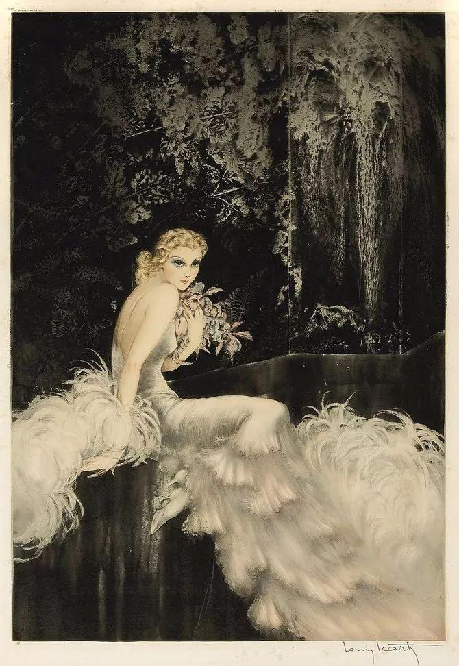 妻子是他一生艺术的灵感源泉 法国画家Louis Icart插图71