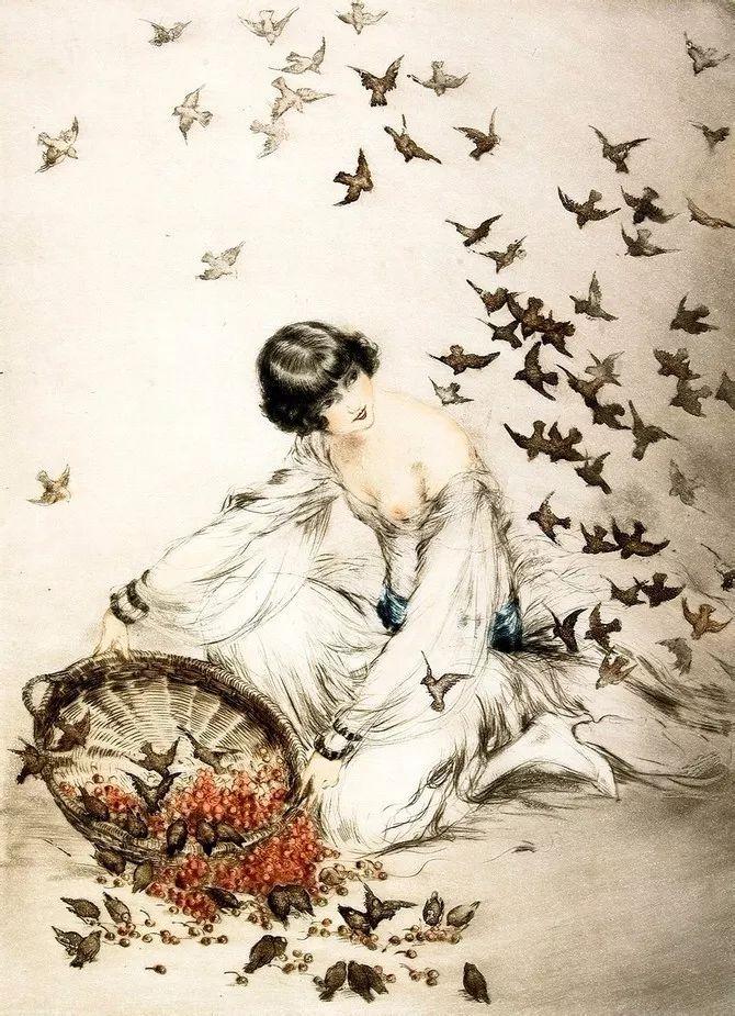 妻子是他一生艺术的灵感源泉 法国画家Louis Icart插图73