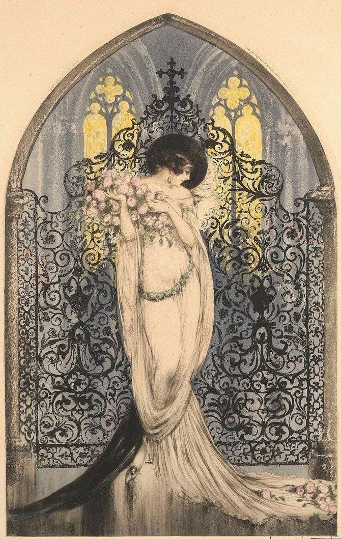妻子是他一生艺术的灵感源泉 法国画家Louis Icart插图75