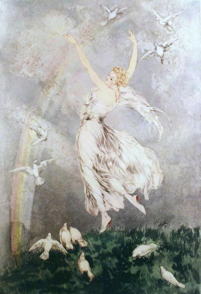 妻子是他一生艺术的灵感源泉 法国画家Louis Icart插图77