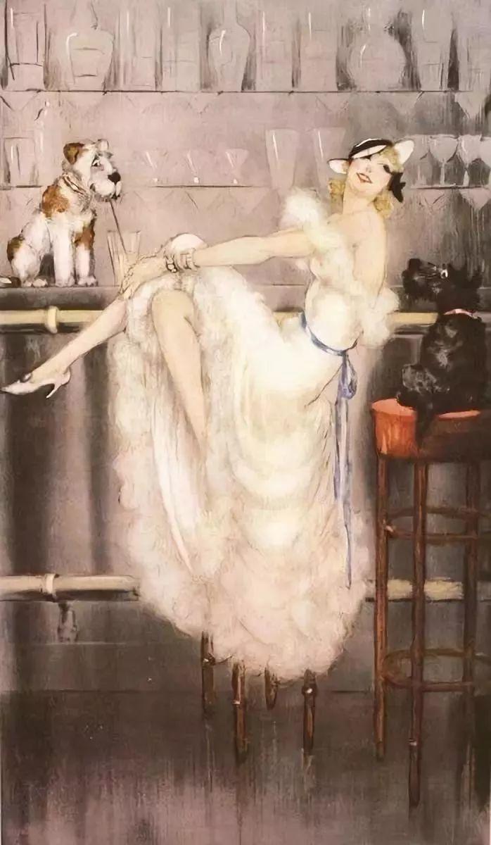 妻子是他一生艺术的灵感源泉 法国画家Louis Icart插图79