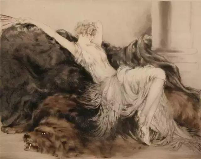 妻子是他一生艺术的灵感源泉 法国画家Louis Icart插图81