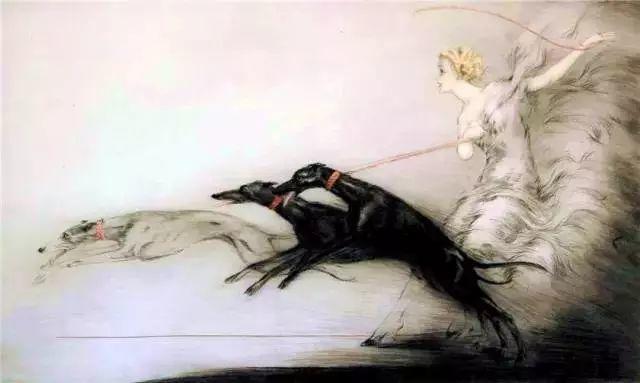 妻子是他一生艺术的灵感源泉 法国画家Louis Icart插图87