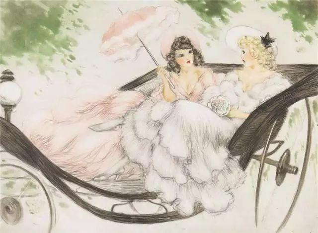 妻子是他一生艺术的灵感源泉 法国画家Louis Icart插图93