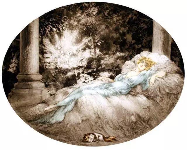 妻子是他一生艺术的灵感源泉 法国画家Louis Icart插图95