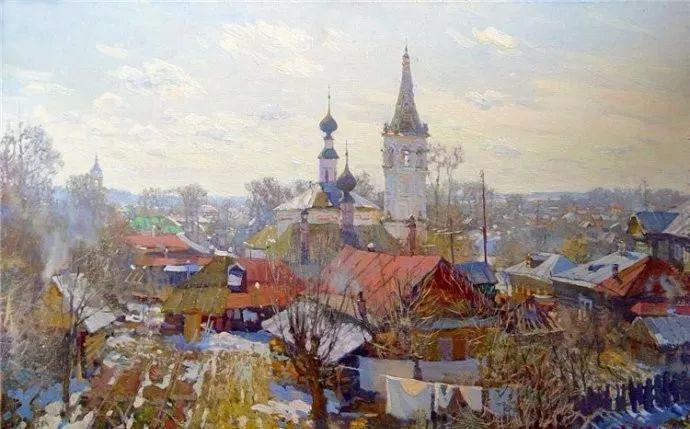 风景油画18幅,俄罗斯画家雅罗斯拉夫插图3