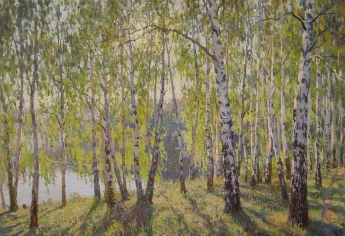 风景油画18幅,俄罗斯画家雅罗斯拉夫插图5