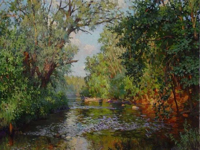 风景油画18幅,俄罗斯画家雅罗斯拉夫插图11