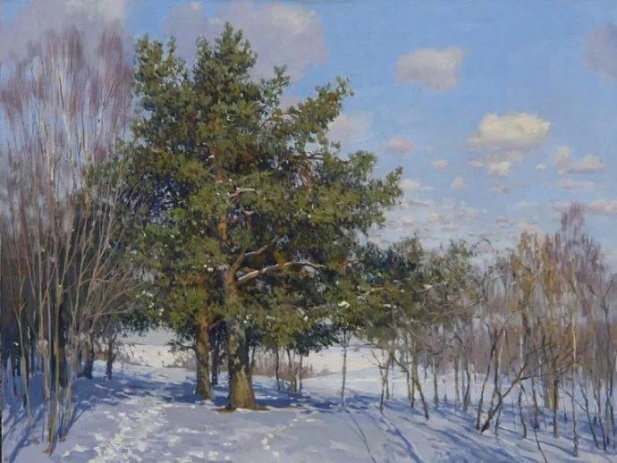 风景油画18幅,俄罗斯画家雅罗斯拉夫插图13
