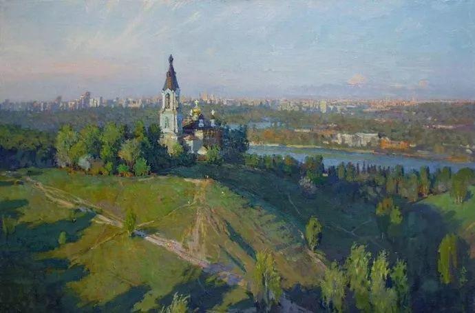 风景油画18幅,俄罗斯画家雅罗斯拉夫插图15