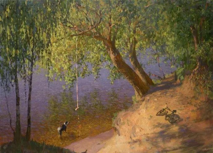 风景油画18幅,俄罗斯画家雅罗斯拉夫插图17