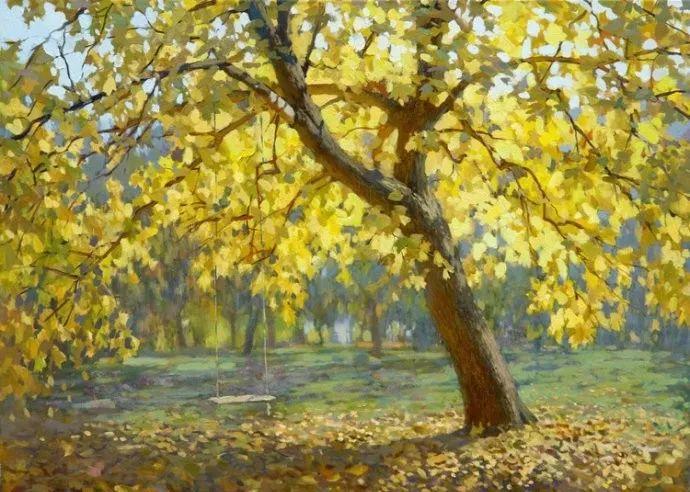 风景油画18幅,俄罗斯画家雅罗斯拉夫插图21