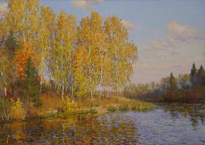 风景油画18幅,俄罗斯画家雅罗斯拉夫插图23