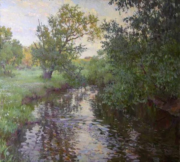 风景油画18幅,俄罗斯画家雅罗斯拉夫插图25