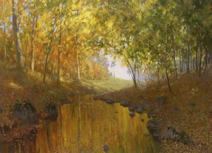 风景油画18幅,俄罗斯画家雅罗斯拉夫插图27