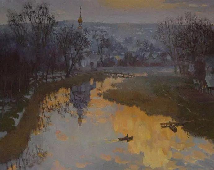 风景油画18幅,俄罗斯画家雅罗斯拉夫插图29