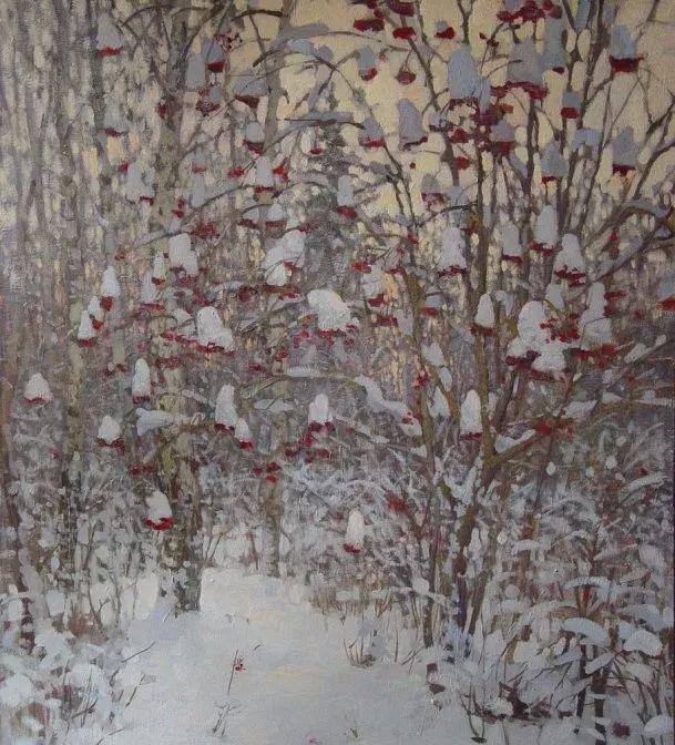 风景油画18幅,俄罗斯画家雅罗斯拉夫插图31