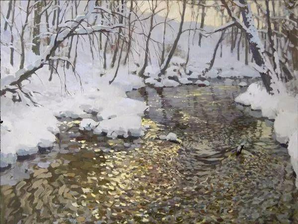 风景油画18幅,俄罗斯画家雅罗斯拉夫插图33