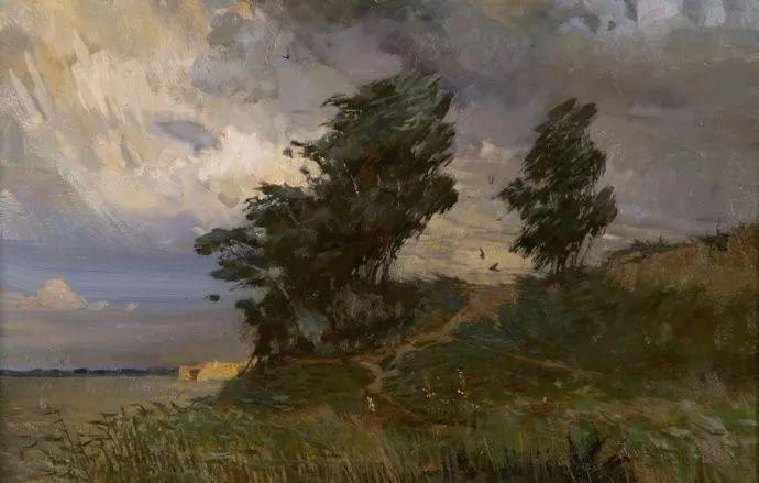 风景油画18幅,俄罗斯画家雅罗斯拉夫插图35