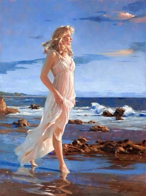 阳光般的美感 青春靓丽的女子插图