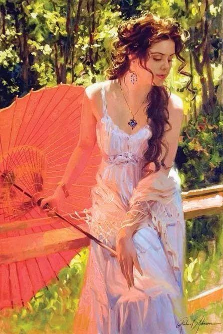 阳光般的美感 青春靓丽的女子插图1