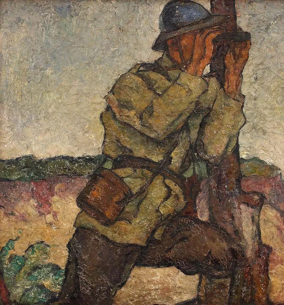 他集多个画派于一身,以对现代综合派艺术贡献而闻名插图4