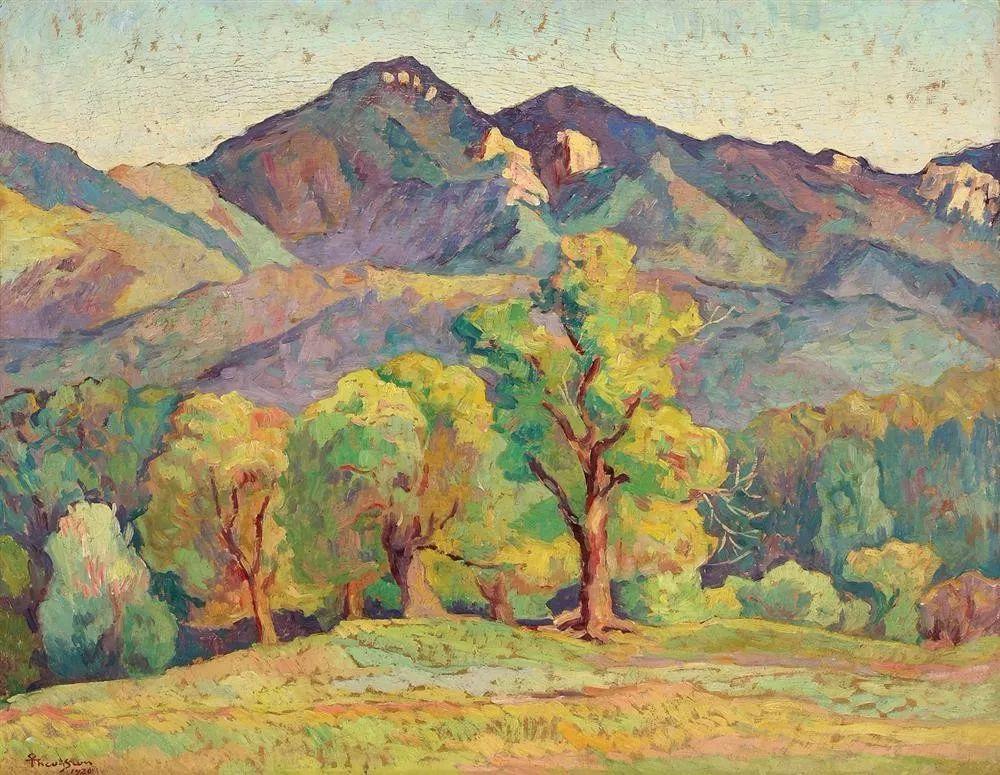 他集多个画派于一身,以对现代综合派艺术贡献而闻名插图6