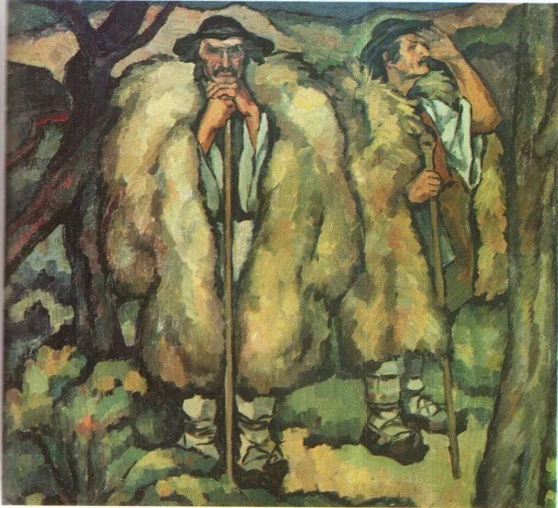 他集多个画派于一身,以对现代综合派艺术贡献而闻名插图23